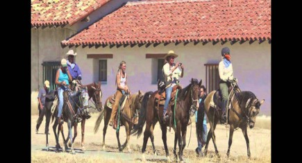 Horses Hit The Trail For 600 Mile CA Mission Ride