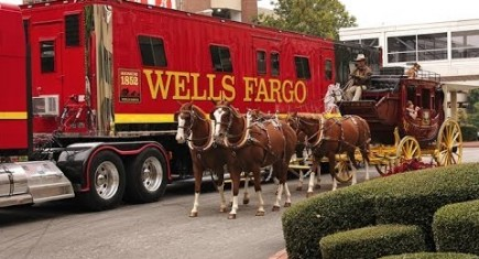 Wells Fargo Horses Are National Equine VIP's