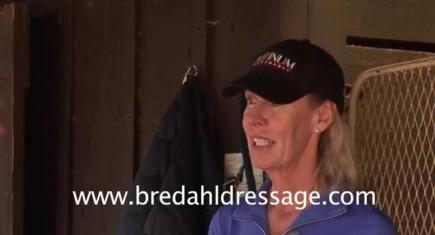 Olympic Dressage Rider Charlotte Bredahl Baker