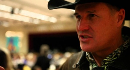 Actor Brad Johnson Saddles Up For Charity & Equine VIP